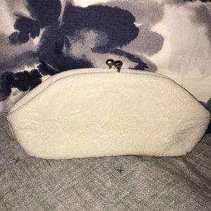 Handbags - Vintage White Josef Bead Clutch